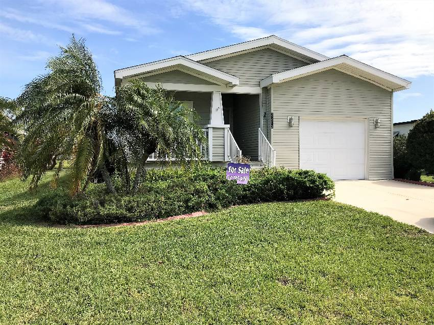 Ellenton, FL Mobile Home for Sale located at 7712 Desoto Dr - Colony Cove