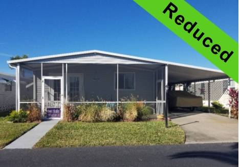 Palmetto, FL Mobile Home for Sale located at 327 3rd St Dr W Lot #36 - Pegel Point