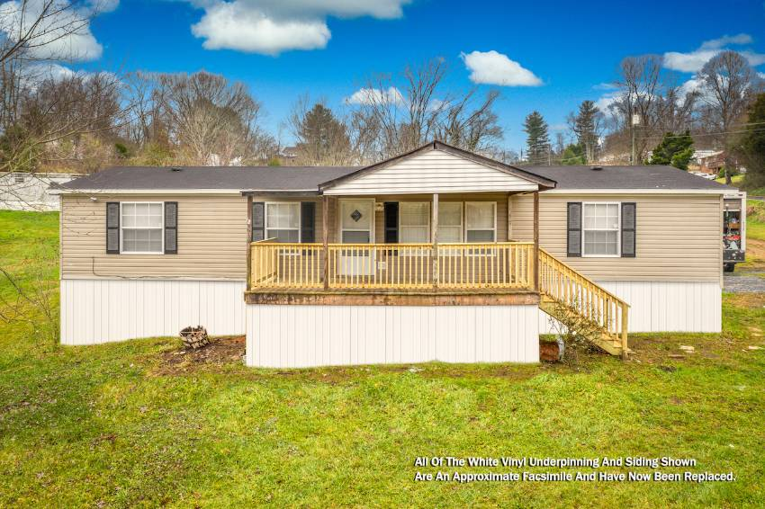Blountville, TN Mobile Home for Sale located at 1341 Big Hollow Road -