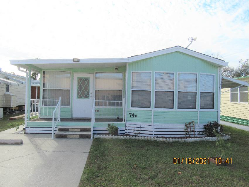 Zephyrhills, FL Mobile Home for Sale located at 4421 Lane Road, Lot 74b - Hillcrest Rv Resort
