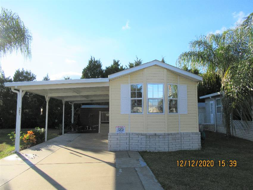 Zephyrhills, FL Mobile Home for Sale located at 3651 Black Diamond Drive - Majestic Oaks Rv Resort