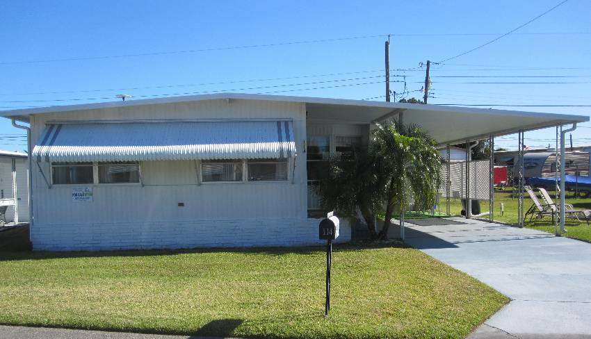 Lakeland, FL Mobile Home for Sale located at 114 Boyd Street - Twin Palms Mobile Home Park