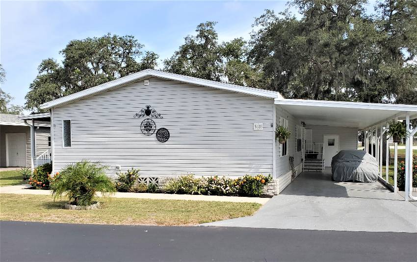 Zephyrhills, FL Mobile Home for Sale located at 3603 Ranger Parkway - Southport Springs Golf And Country Club