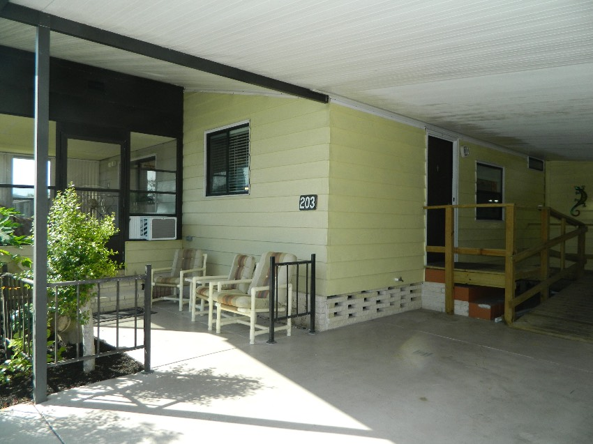 Lakeland, FL Mobile Home for Sale located at 2425 Harden Blvd. #203 - Beacon Terrace