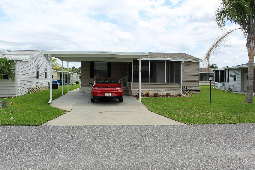 Winter Haven, FL Mobile Home for Sale located at 734 Red Cypress Lane Cypress Creek Village