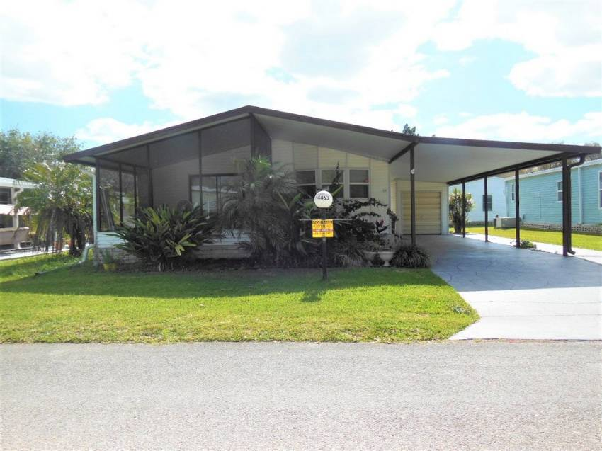 Lakeland, FL Mobile Home for Sale located at 4463 Alvamar Tr - Schalamar Creek Golf & Country Club