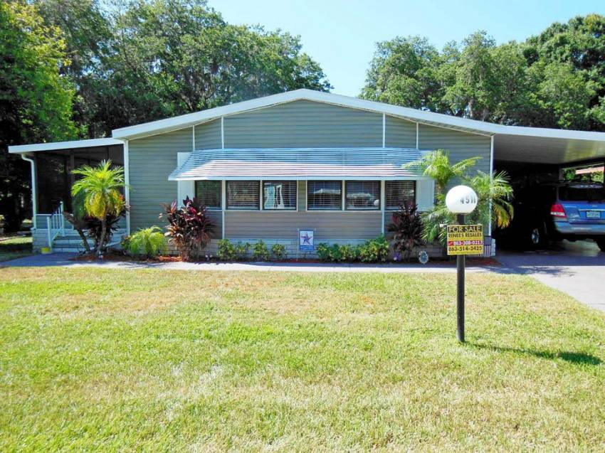 Lakeland, FL Mobile Home for Sale located at 4516 Alpine Dr - Schalamar Creek Golf & Country Club