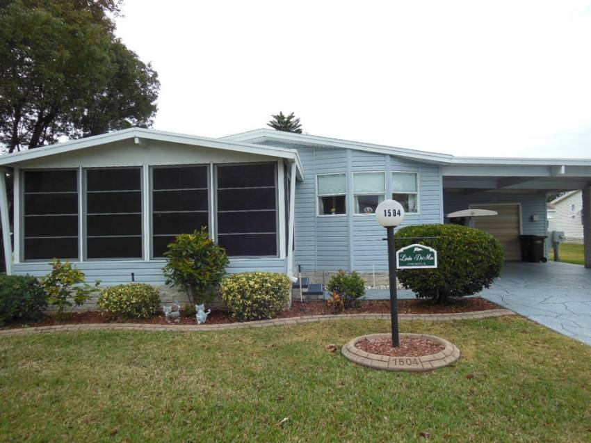 Lakeland, FL Mobile Home for Sale located at 1504 Schalamar Creek Dr - Schalamar Creek Golf & Country Club