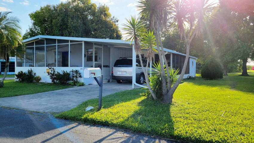 243 Green Haven Dr W a Dundee, FL Mobile or Manufactured Home for Sale