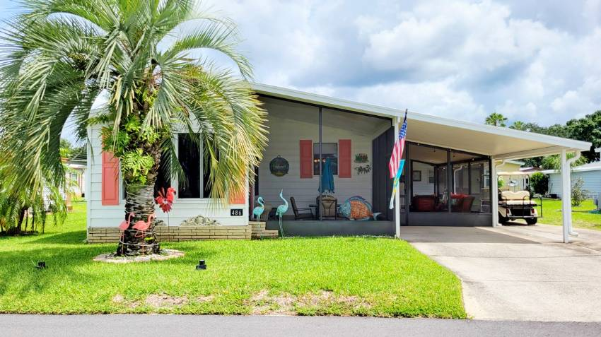 Winter Haven, FL Mobile Home for Sale located at 486 Putter Circle Swiss Golf & Tennis